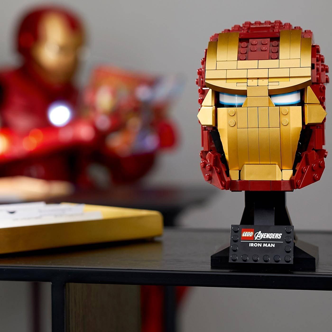 LEGO Super Heroes Hełm Iron Mana 76165