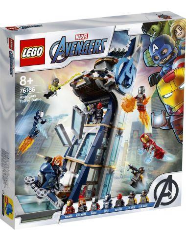 LEGO Super Heroes Walka o Wieżę Avengersów 76166