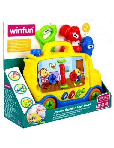 WinFun Auto Małego Budowniczego Ciężarówka 0795