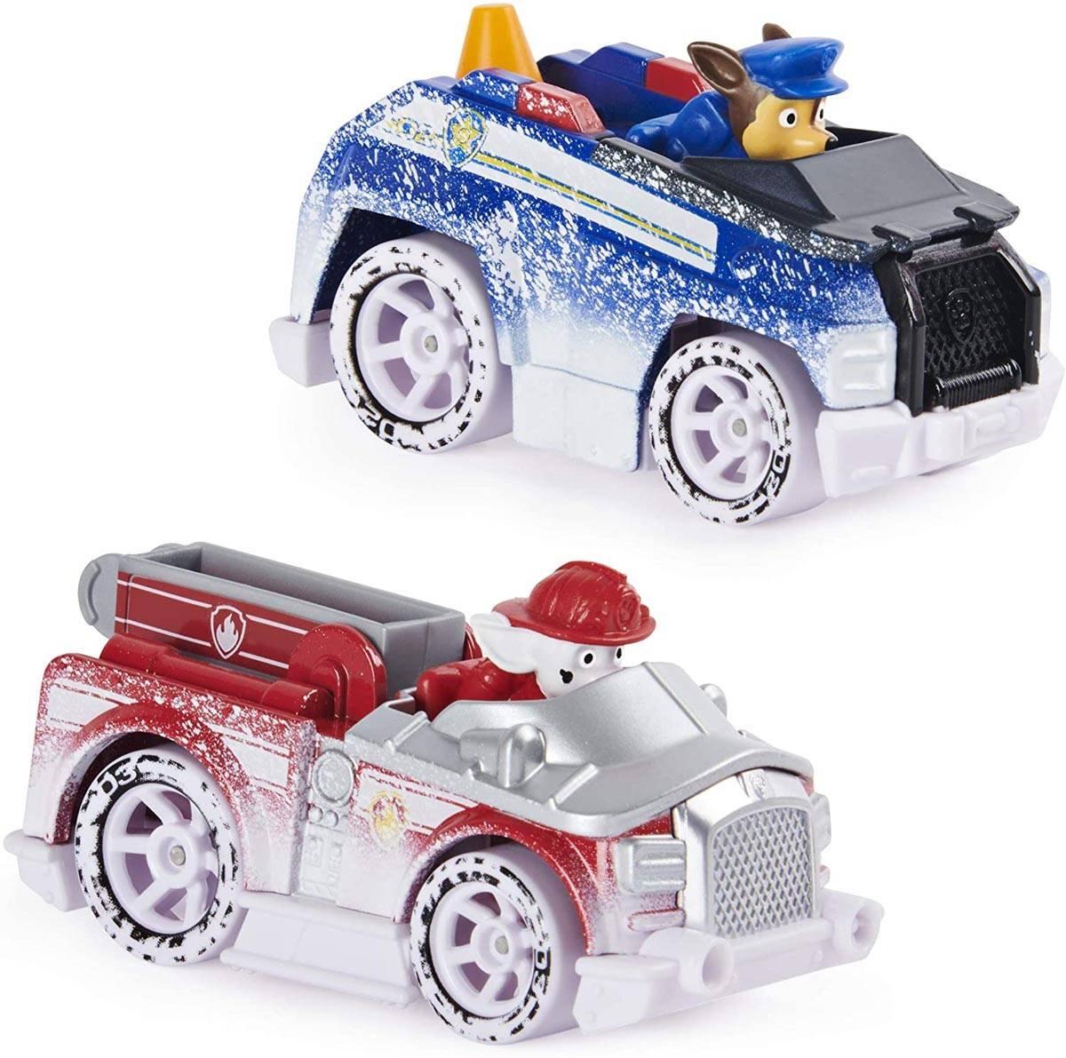 Psi Patrol zestaw 6 samochodzików