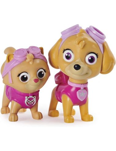 Psi Patrol zestaw 8 figurek Pieski i Kotki