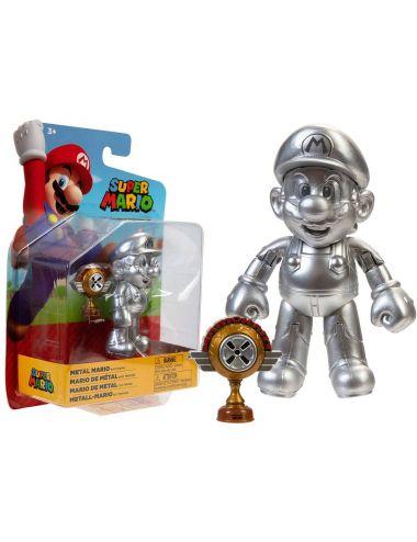 Super Mario figurka Metal Mario 10 cm 403114