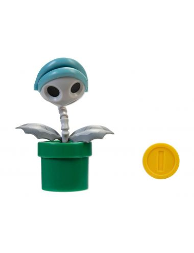 Super Mario Bone Piranha Plant figurka i moneta 10 cm 403114