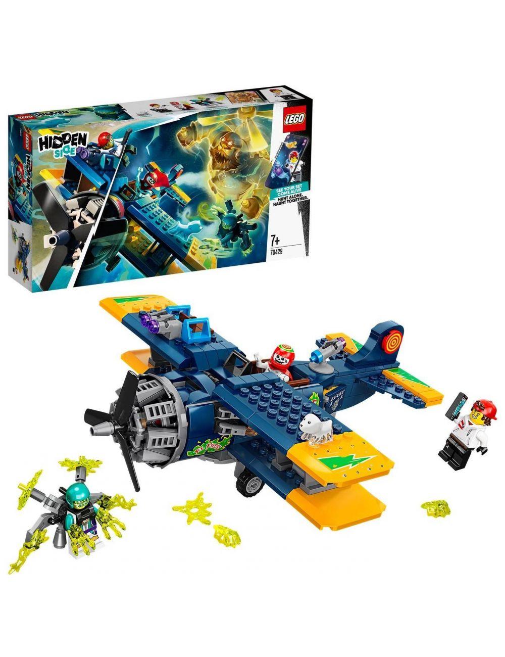 LEGO Hidden Side Samolot Kaskaderski El Fuego 70429