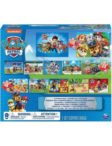 Psi Patrol Puzzle 12 obrazków 560 elementów 5041049