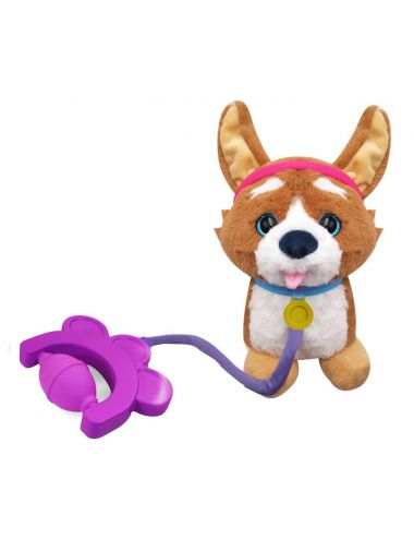 Sprint Piesek Corgi na Smyczy Tm Toys