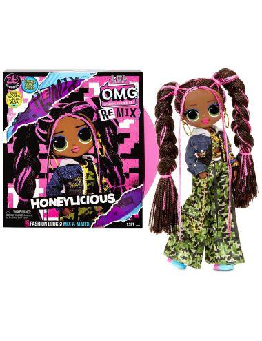 LOL Surprise OMG Remix Honeylicious Hip Hop lalka modowa 567264