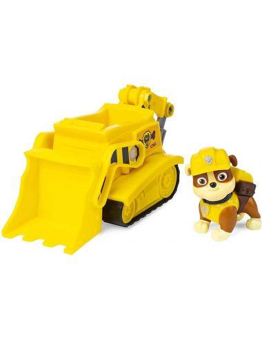 Psi Patrol Pojazd Podstawowy z Figurką Spycharka i Rubble