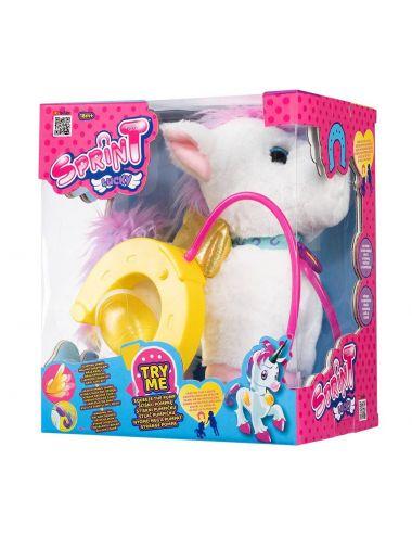 Sprint Jednorożec Lucky na Smyczy Tm Toys