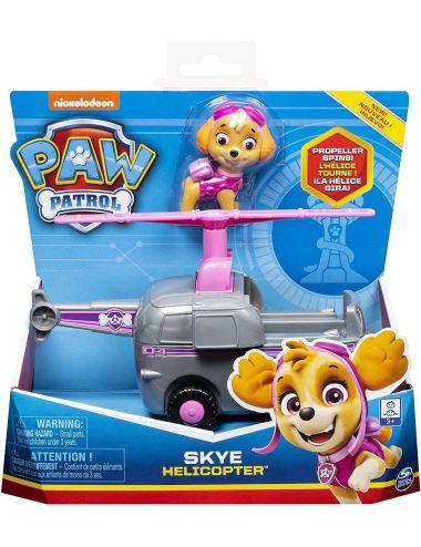 Psi Patrol Pojazd Podstawowy z Figurką Helikopter i Skye