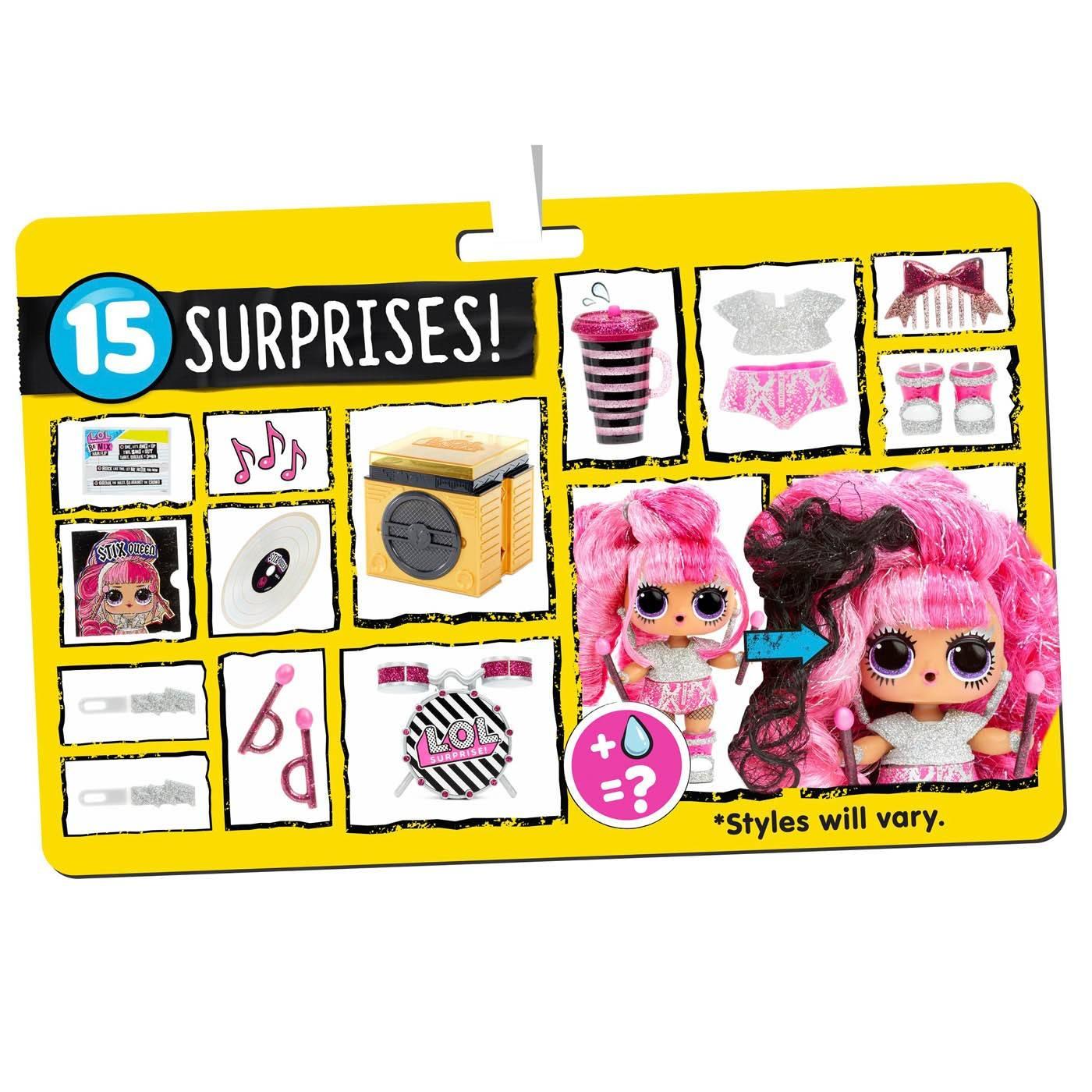 LOL Surprise Remix Hairflip Tots Laleczka muzyczna 556960