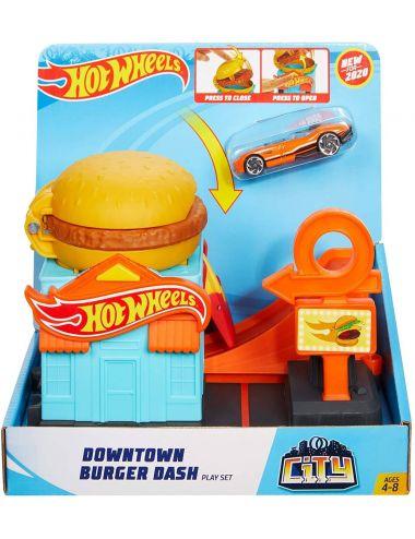 Hot Wheels Kaskaderska Burgerownia GDP09