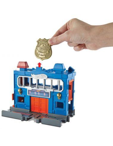 Hot Wheels Odjazdowy posterunek policji zestaw autko FRH33