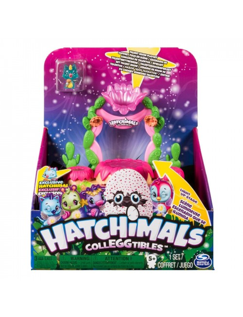 Hatchimals Migoczące piaski scena z figurką