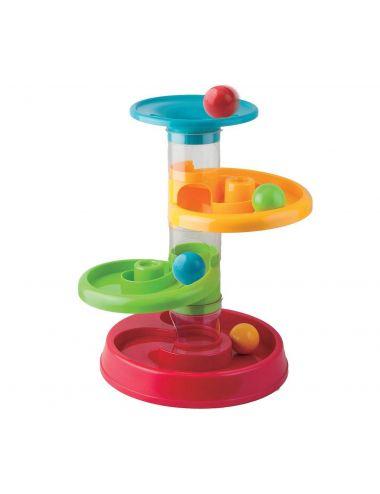 Smily Play Wieża ze Zjeżdżalnią dla Piłeczek 82933