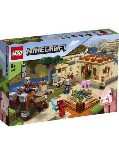 Lego Minecraft Najazd Złosadników 21160