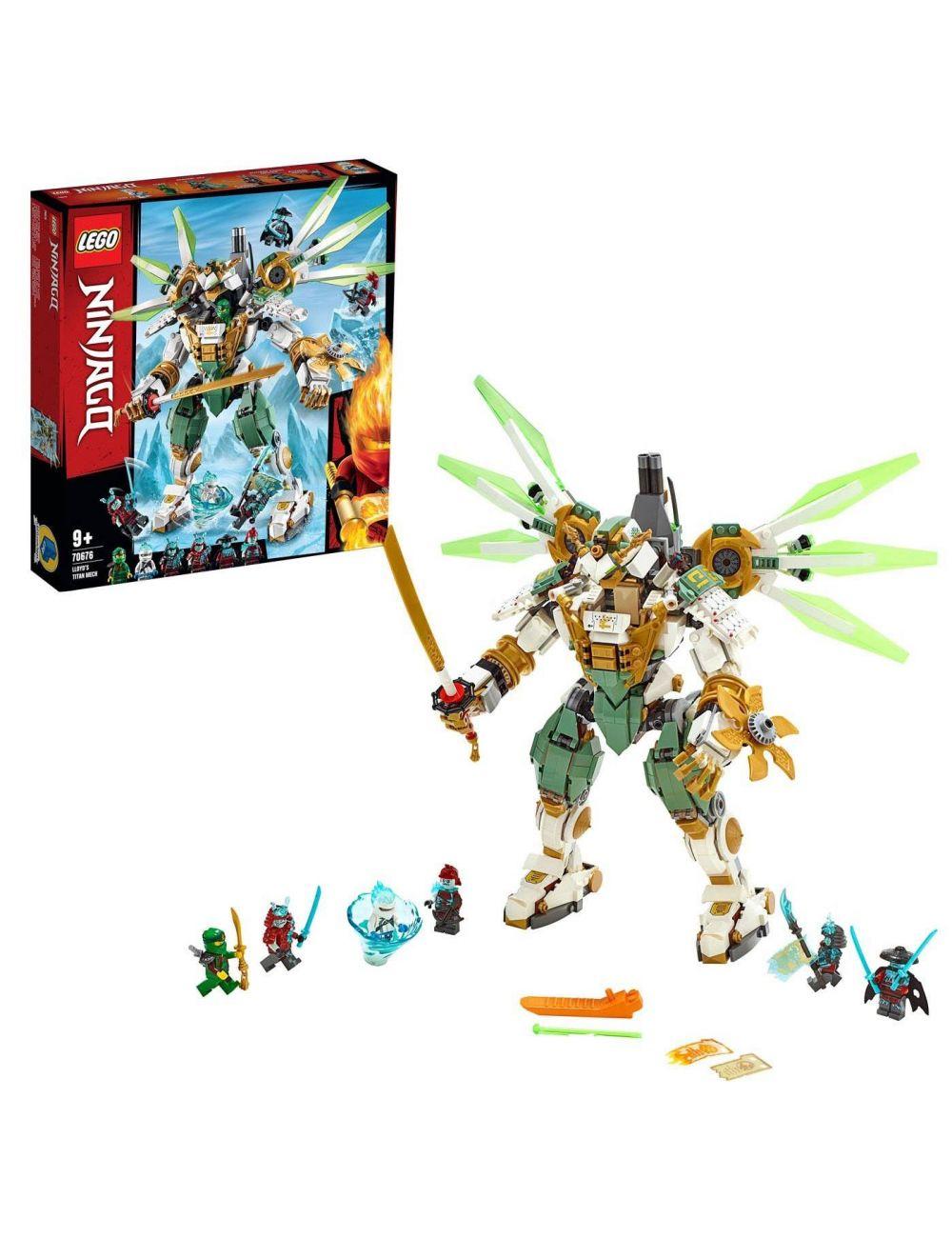 Lego Ninjago Mechaniczny Tytan Lloyda 70676