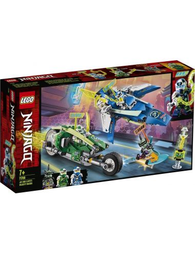 Lego Ninjago Wyścigówki Jaya i Lloyda 71709