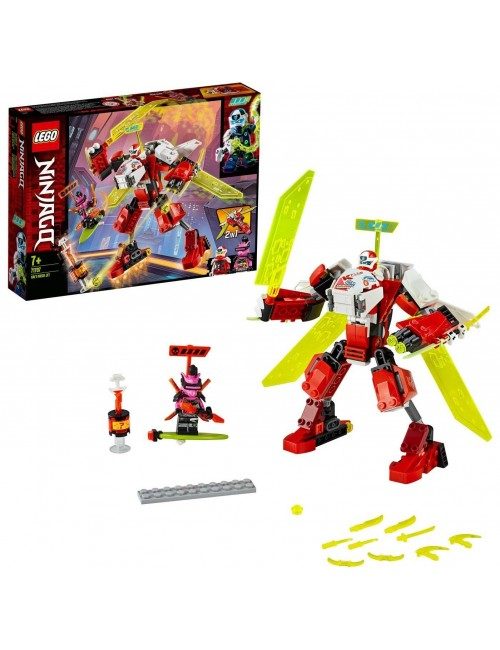 Lego Ninjago Robot odrzutowiec Kaia 71707