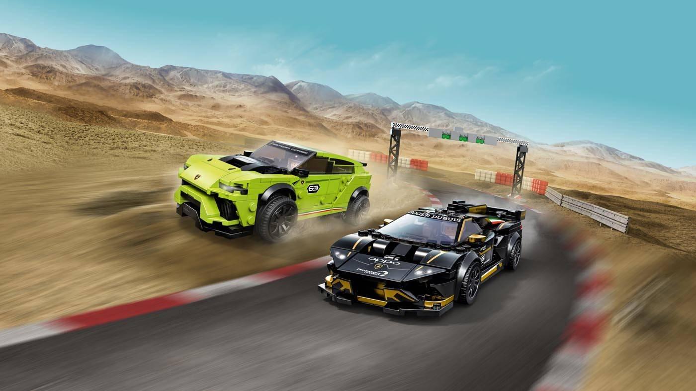 Lego Speed Champions Lamborghini Urus i Lamborghini Huracan 76899