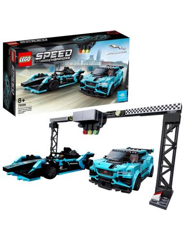 Lego Speed Champions Panasonic Jaguar Racing GEN2 i Jaguar I-PACE eTROPHY 76898