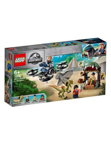 Lego Jurassic World Dilofozaur na wolności 75934