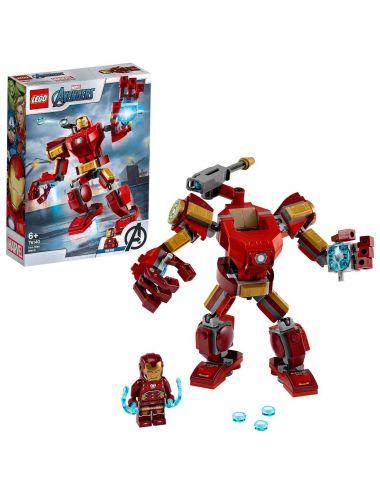 LEGO Marvel Mech Iron Mana 76140