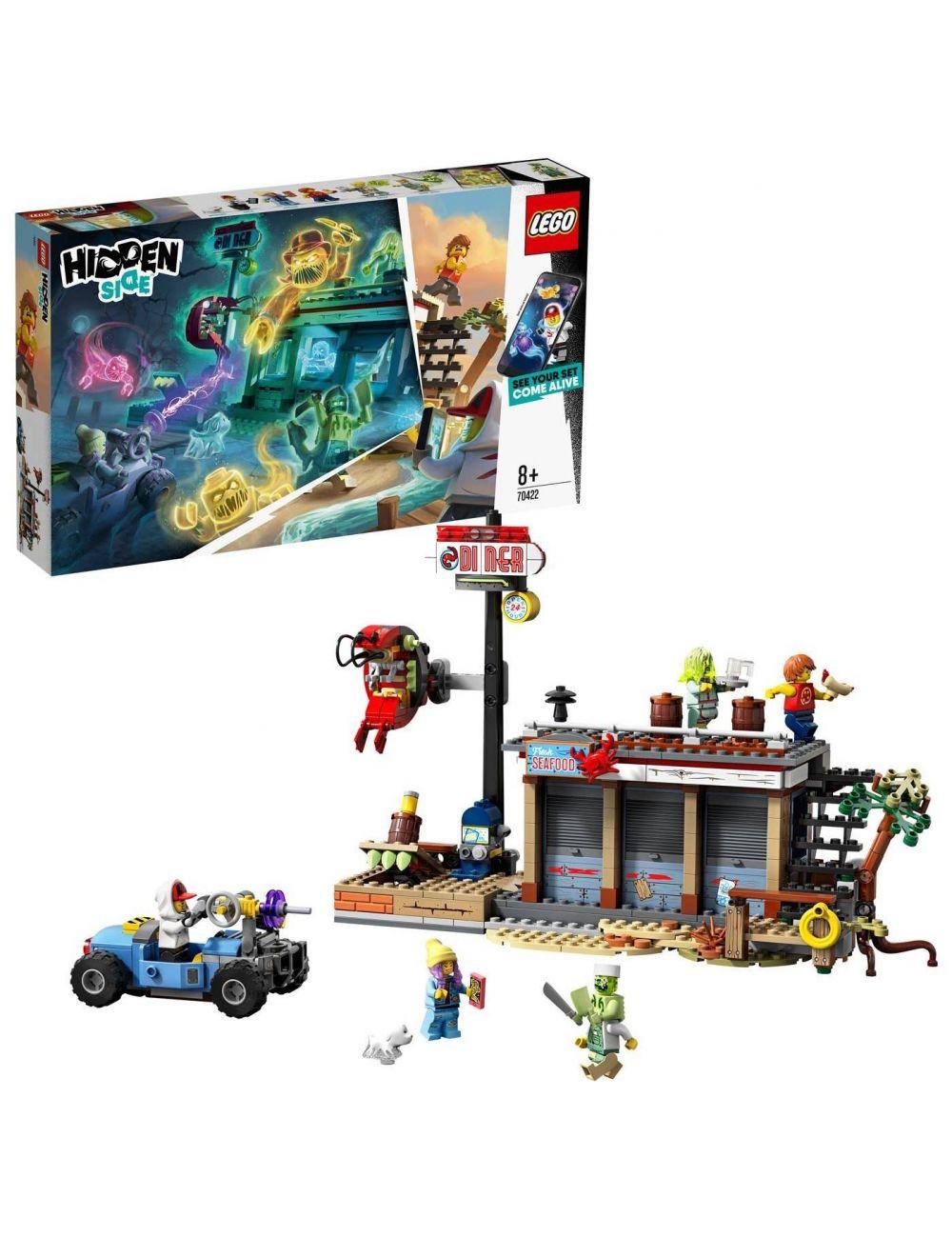 LEGO Hidden Side Kłopoty w restauracji 70422