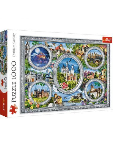 Trefl Puzzle 1000el Zamki Świata 10583