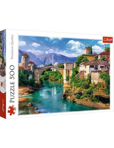 Trefl Puzzle 500el Stary most w Mostarze, Bośnia 37333