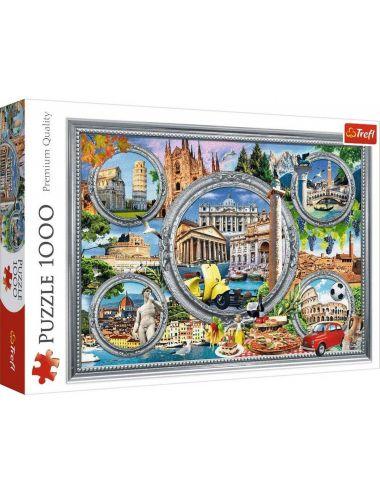 Trefl Puzzle 1000el Włoskie wakacje 10585