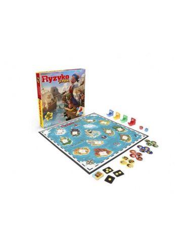 Hasbro Gaming Ryzyko Junior gra rodzinna E6936