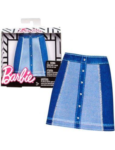 Barbie Ubranko Spódnica dżinsowa FPH37