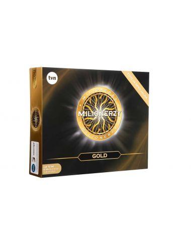 Milionerzy Edycja Gold gra planszowa TVN