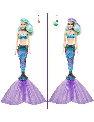 Lalka Barbie Kolorowa Niespodzianka Syrenka GTP48 Mattel
