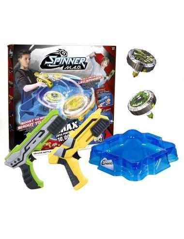 Dumel Wyrzutnie Silverlit Spinner Deluxe Battle Pack + arena