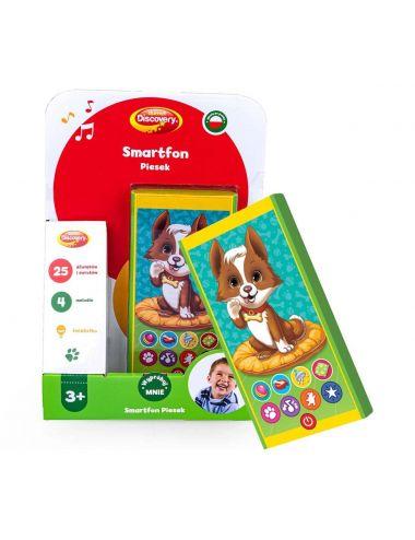 Dumel Smartfon Piesek zabawka edukacyjna 80067