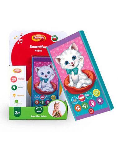 Dumel Smartfon Kotek zabawka edukacyjna 80074