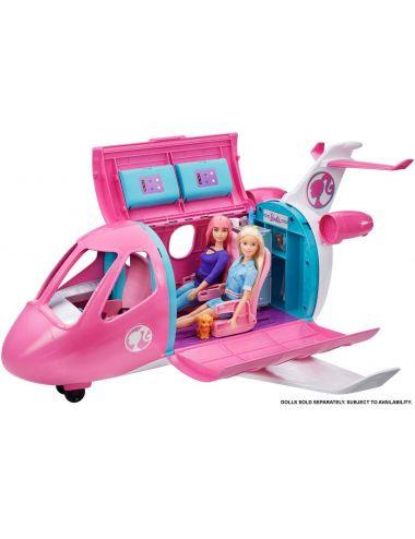 Barbie Samolot dla Lalek z akcesoriami GDG76