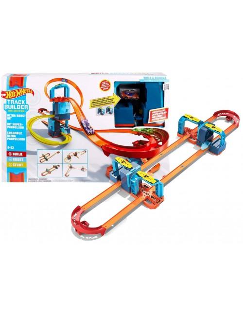 Hot Wheels Track Builder Unlimited Ultraprzyśpieszenie zestaw z napędem GLC97