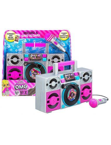 LOL Surprise Boombox Karaoke z mikrofonem LL-115