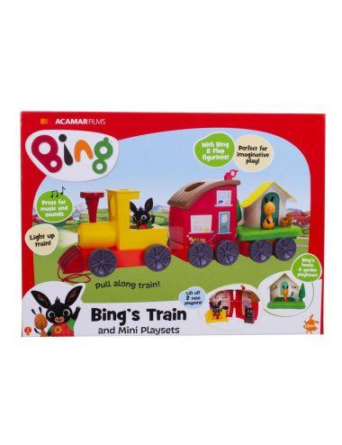Królik BING Pociąg Binga muzyczny lokomotywa 3547