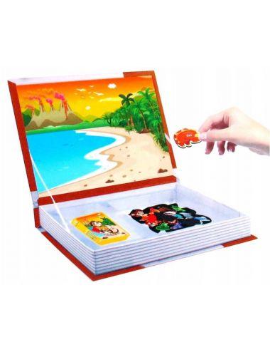 Smily Play Układanka Magnetyczna Puzzle Zwierzyniec SP82939