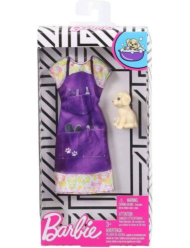 Barbie zestaw ubranek Kariera Psi Fryzjer GHX37