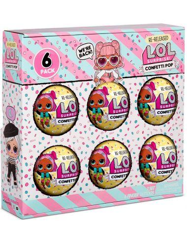 LOL Surprise Confetti Angel 6-pak Seria 3 Reedycja 571599