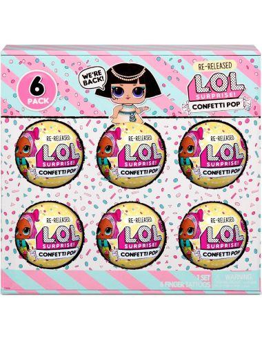 LOL Surprise Confetti Pharaoh Babe 6-pak Seria 3 Reedycja 571629