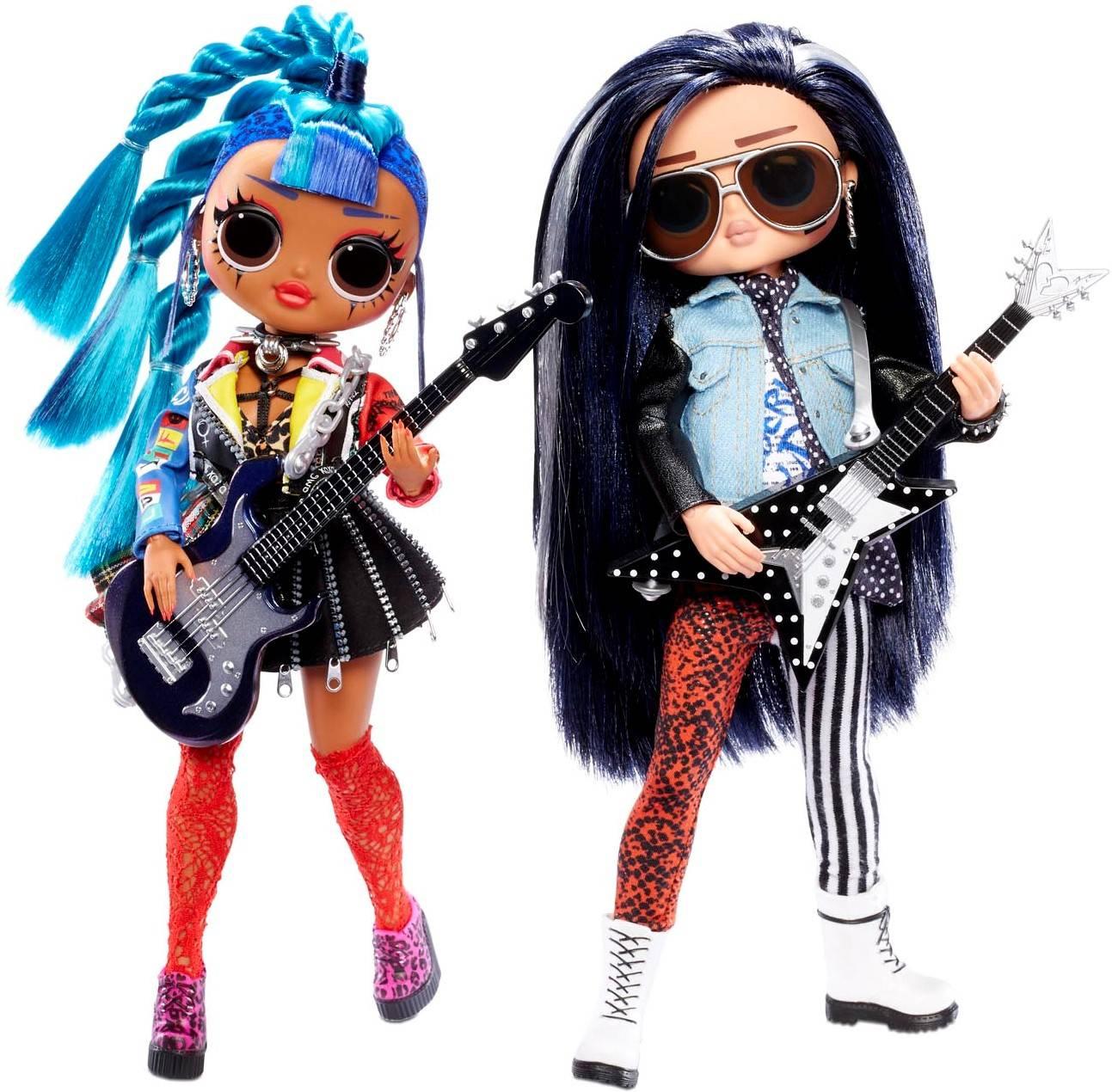 LOL Surprise OMG Remix Rocker Boi & Punk Grrrl Zestaw Rockowy 567288