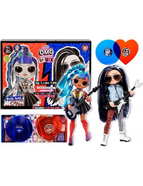 LOL Surprise OMG Remix Rocker Boi & Punk Grrrl Zestaw z Muzyką 567288