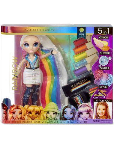 Rainbow High Hair Studio Tęczowe Włosy Lalka Amaya Raine 569329