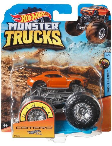Hot Wheels Monster Truck Pojazdy 1-Pak FYJ44